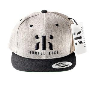 Kumfee Kush (TM) Hats, Baseball Caps, Black & Gray